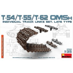 MINIART37048 T54/T55/T62 OMS Individ. Track 1/35