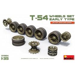 MINIART37054 T-54 Wheels Set Early Type 1/35