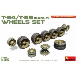 MINIART37056 T54-55 Early Wheel Set 1/35