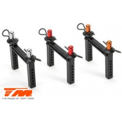 TM510142O Pièce Option - E5 - Support de carrosserie en aluminium – Orange