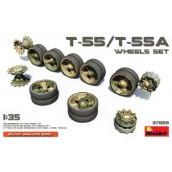 MINIART37058 T55 - T55A Wheels Set 1/35