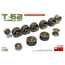 MINIART37060 T-62 Wheels Set 1/35