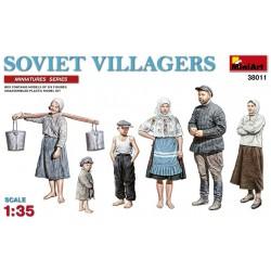 MINIART38011 Soviet Villagers 1/35