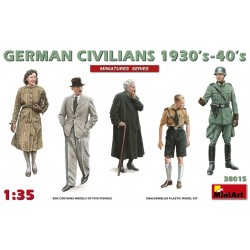 MINIART38015 German Civilians 1930-40 1/35