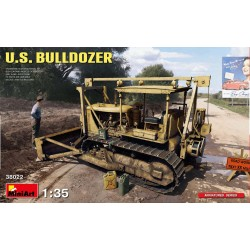 MINIART38022 US Bulldozer 1/35