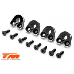 TM510173BK Option Part - E5 - Aluminum Pivot Ball Mount - Black (4 pcs)