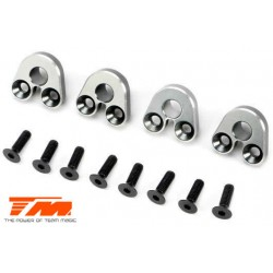TM510173TI Option Part - E5 - Aluminum Pivot Ball Mount - Titanium (4 pcs)