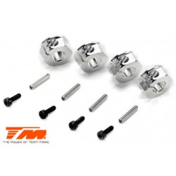 TM510174TI Option Part - E5 - Clamp Type Wheel Hexes 12mm - Titanium (4 pcs)
