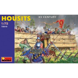 MINIART72010 Housits XV Century 1/72