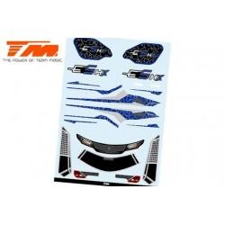 TM510190B-1 Autocollants - E5 HX – Bleu