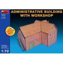 MINIART72021 Admin.Building with Workshop 1/72