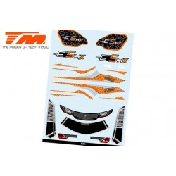 TM510190O-1 Autocollants - E5 HX – Orange