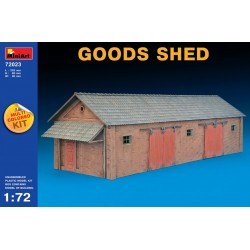 MINIART72023 Goods Shed 1/72
