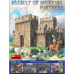 MINIART72033 Assault of Medieval Fortress 1/72