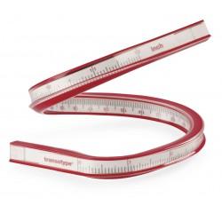 HO17553006 Règle courbe, flexible 30 cm