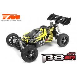 TM560011B-ARR Auto - 1/8 Electrique - 4WD Buggy - ARR - Team Magic B8ER Jaune/Noir sans électronique