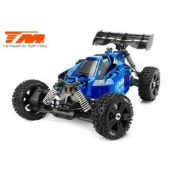 TM560011DH6 Auto - 1/8 Electrique - 4WD Buggy - RTR - Moteur Brushless 2250kv - 6S - Etanche - Team Magic B8ER Bleu/Noir