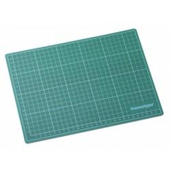 HO17501 Tapis de coupe Vert/Noir (220 x 300 mm)