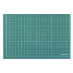 HO17502 Tapis de coupe Vert/Noir (450 x 300 mm)