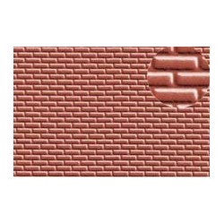 PL0401 PLASTIKARD 4 mm brick red 300 x 174 x 0,5mm