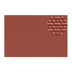 PL0402 PLASTIKARD 2 mm brick red 300 x 174 x 0,5mm