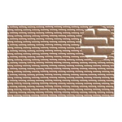 PL0403 PLASTIKARD 4 mm brick grey 300 x 174 x 0,5mm