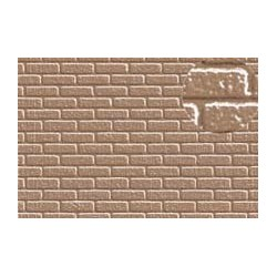 PL0406 PLASTIKARD 7 mm brick grey 300 x 174 x 0,5mm