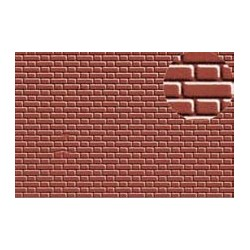 PL0407 PLASTIKARD 4 mm flemish bond brick 300 x 174 x 0,5mm