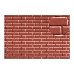 PL0410 PLASTIKARD 7 mm flemish bond brick 300 x 174 x 0,5mm
