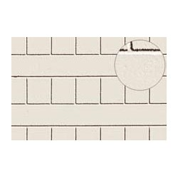 PL0430 PLASTIKARD 7 mm slating white 300 x 174 x 0,5mm