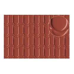 PL0440 PLASTIKARD Pantile roof large 300 x 174 x 0,5mm