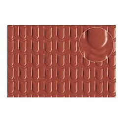 PL0441 PLASTIKARD Pantile roof medium 300 x 174 x 0,5mm