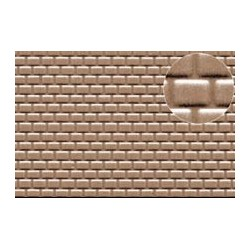 PL0442 PLASTIKARD 2 mm roof tile 300 x 174 x 0,5mm