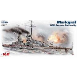 ICMS005 ICM Margraf WWI Battleship 1/350