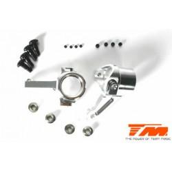 TM560122 Pièce détachée - M8JS/JR - Aluminium 7075 - Blocs de direction (2 pces)