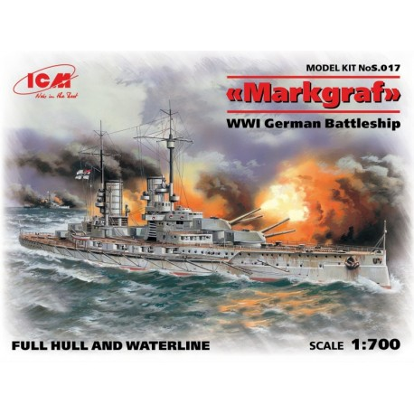 ICMS017 Markgraf (full hull & waterl.)1/700