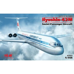 ICM14405 Ilyushin 62M Passenger Aircr. 1/144