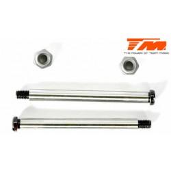 TM560129 Pièce détachée - M8JS/JR - Axe acier de suspension 3.5x41.5mm (pour avant supérieur/extérieur inférieur) (2 pces)