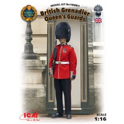 ICM16001 British Queen's Guards Grena. 1/16
