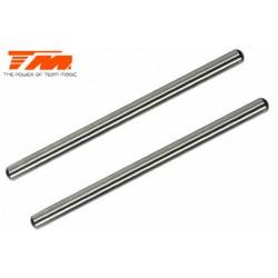 TM560130 Pièce détachée - M8JS/JR/B8ER - Axe acier de suspension 4x68.8mm (pour avant inférieur) (2 pces)