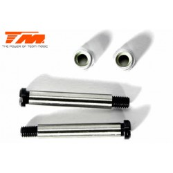TM560135 Pièce détachée - M8JS/JR - Axe acier de suspension 3.5x26mm (pour avant supérieur extérieur) (2 pces)