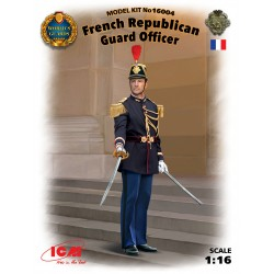 ICM16004 French Republican Guard Off. 1/16