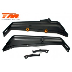 TM560139 Pièce détachée - M8JS/JR - Renfort et protections latérales (2 pces)