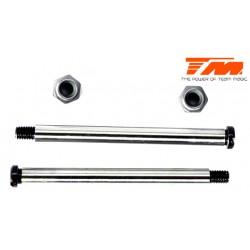 TM560157 Pièce détachée - M8JS/JR - Axe acier de suspension 3.5x43.5mm (pour arrière extérieur) (2 pces)