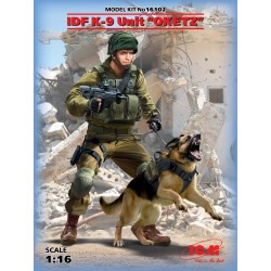 ICM16102 K-9. Israeli Police Team Officer 1/16