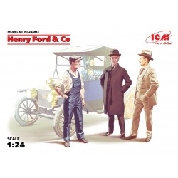 ICM24003 Henry Ford & Co (3 Fig) 1/24