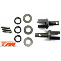 TM560169 Pièce détachée - M8JS/JR - Sorties de différentiel acier Centre (2 pces)