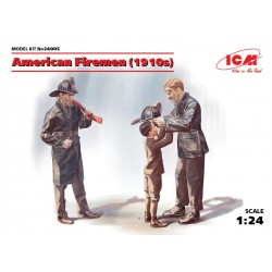 ICM24005 American Firemen (1910s) 2 fig.1/24