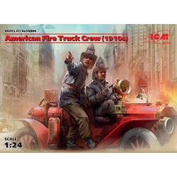 ICM24006 American Fire Truck Crew (1910s) 2 1/24