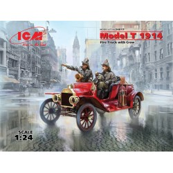 ICM24017 Model T 1914 Fire Truck with Crew